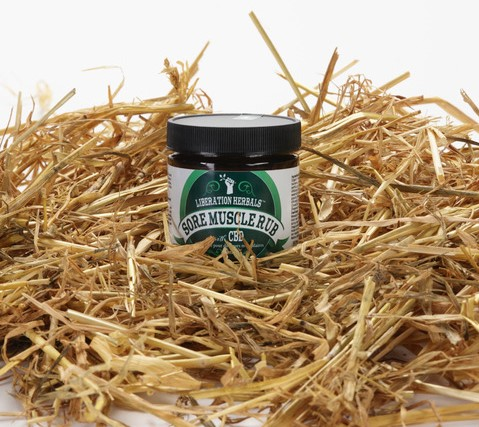 Liberation Herbals Sore Muscle Rub. Popular pain relief for our members since 1998.