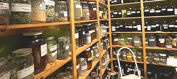 Image of the inside of the BC Compassion Club's Wellness Centre Apothecary
